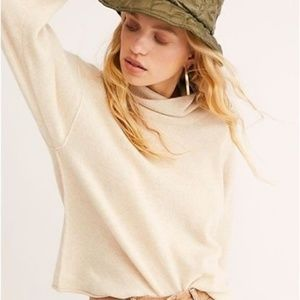 Free People Cashmere Turtle Neck Sweater